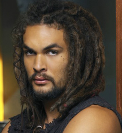 Jason Momoa as Ronon Dex - photo courtesy of Sci Fi